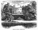 Howth Castle, Dublin Bay Fine Art Print by Joseph Werner