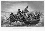 Washington Crossing the Delaware Fine Art Print by Emanuel Gottlieb Leutze