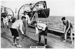Deck hockey on board the battleship HMS Nelson Wall Art & Canvas Prints by W. Lloyd