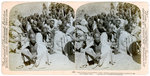 Boxer prisoners captured and brought in by the US 6th Cavalry, Tientsin, China Wall Art & Canvas Prints by French School