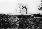 Old ruin on the banks of the Tigris River, Mosul, Mesopotamia Fine Art Print by Thomas Hearne