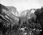 Yosemite Valley from Artist's Point, California, USA Fine Art Print by Albert Bierstadt