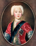 'The Young Chavalier', Prince Charles Edward Stuart Poster Art Print by J. Williams