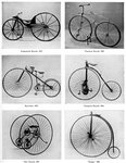 The evolution of the bicycle Fine Art Print by Terrence Nunn