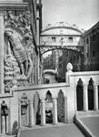 The Bridge of Sighs and Doge's Palace, Venice Fine Art Print by German School