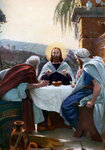 Breaking of Bread at Emmaus Fine Art Print by James Hayllar