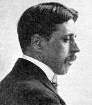 Arnold Bennett', The novelist of the 'Five Towns Fine Art Print by French School