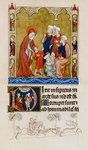 Christ being found by his mother in the temple disputing with doctors Wall Art & Canvas Prints by Ethiopian School