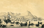 Victoria Town, Hong Kong Island Wall Art & Canvas Prints by William Francis Phillipps