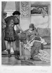 A Silent Greeting Fine Art Print by Sir Lawrence Alma-Tadema