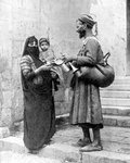 A water seller, Cairo, Egypt Wall Art & Canvas Prints by Antoine Charles Horace Vernet