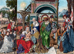 The Adoration of the Magi Fine Art Print by Lucas, the Elder Cranach