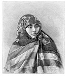 A woman of Brussa, Turkey Fine Art Print by Fausto Zonaro