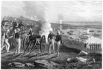 Major Eyre driving the Oude rebels from Allahabad Fine Art Print by Richard Caton II Woodville