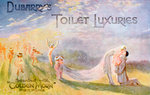 Advertisement for Dubarry's Toilet Luxuries, scented with 'Golden Morn' perfume Fine Art Print by English School