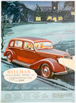 Advert for Hillman motor cars Fine Art Print by Anonymous