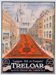 Advert for Treloar carpets Postcards, Greetings Cards, Art Prints, Canvas, Framed Pictures & Wall Art by American School