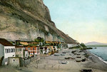 Catalan Bay, Gibraltar Fine Art Print by Gustave Courbet