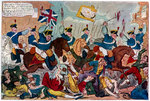 The Massacre of Peterloo, or Britons Strike Home Fine Art Print by American School