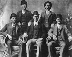 The Wild Bunch, American outlaw gang Fine Art Print by American Photographer