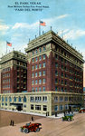 Paso del Norte Hotel, El Paso, Texas, USA Wall Art & Canvas Prints by Max Ferguson