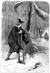 Roger Williams in the forest, America Wall Art & Canvas Prints by American School