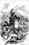 Battle of Buena Vista, Mexico Wall Art & Canvas Prints by James Edwin McConnell