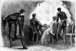 Assassination of President Lincoln, Washington DC Fine Art Print by French School