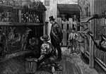 At Jamrach's, London Fine Art Print by Ernest Henry Griset
