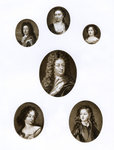 Group of royal portraits Postcards, Greetings Cards, Art Prints, Canvas, Framed Pictures, T-shirts & Wall Art by Paul van Somer