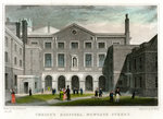 Christ's Hospital School, Newgate Street, City of London Poster Art Print by Maria Konstantinova Bashkirtseva