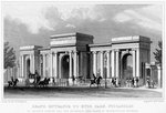 Grand entrance to Hyde Park, Piccadilly, Westminster, London Wall Art & Canvas Prints by Thomas Hosmer Shepherd