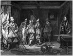 The Death of Wallenstein Wall Art & Canvas Prints by French School