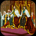 King Edward VII and Queen Alexandra, State Opening of Parliament, Westminster Postcards, Greetings Cards, Art Prints, Canvas, Framed Pictures, T-shirts & Wall Art by Robert Lefevre