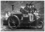 Thomas Rickett's steam carriage Fine Art Print by American Photographer