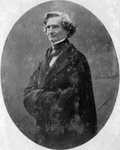 Hector Berlioz, French Romantic composer Fine Art Print by Ernst August Becker