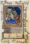 The Nativity, from a Book of Hours and Missal c1370 Fine Art Print by Byzantine School