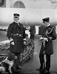 Rear-Admiral Arthur Alington and his Flag Lieutenant, William George Elmhirst Ruck-Keene Fine Art Print by English Photographer