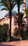Jezzar Pasha mosque, Acre, Palestine Fine Art Print by Sir David Wilkie