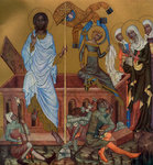 The Resurrection of Christ Wall Art & Canvas Prints by Byzantine School