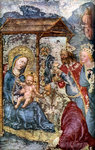Adoration of the Three Kings Fine Art Print by Lucas, the Elder Cranach