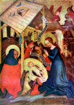 'Adoration of the Child', after 1430 Fine Art Print by Ethiopian School