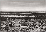 The Kadhimiya, the holy city near Baghdad, from an aeroplane, Iraq Wall Art & Canvas Prints by English School