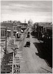 A street in Baghdad, Iraq Fine Art Print by English School