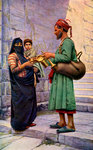 The Water Seller Fine Art Print by Fausto Zonaro