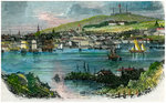 View of Halifax, Nova Scotia Fine Art Print by Erhard Reuwich