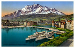 Lucerne, Switzerland Fine Art Print by Philip James Loutherbourg