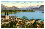 Lucerne and the Alps, Switzerland Postcards, Greetings Cards, Art Prints, Canvas, Framed Pictures & Wall Art by Philip James de Loutherbourg
