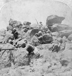A desperate stand at the Modder River, South Africa, 2nd Boer War Wall Art & Canvas Prints by Edward Matthew Hale