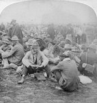 Boer prisoners of war, South Africa, 2nd Boer War Fine Art Print by Robert Alexander Hillingford